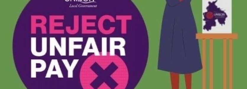UNISON members reject pay offer – and will be balloted for strike action