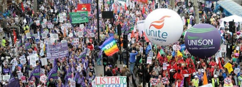 National Demonstration in Manchester, Sunday 1 October