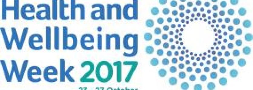 Health & Wellbeing Week 2017 – 23-27 October 2017