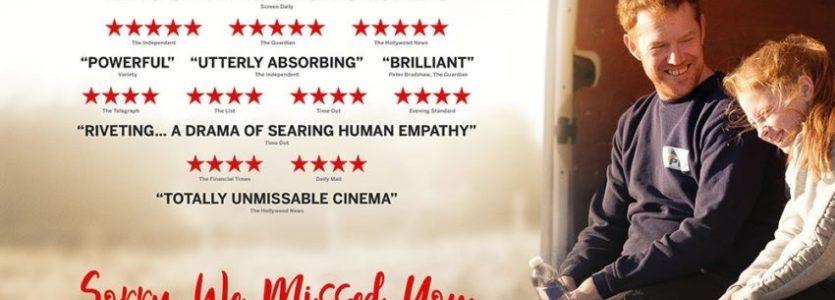 'Sorry We Missed You' Free Film Screening & Supper