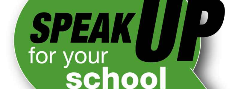 Speak up for schools