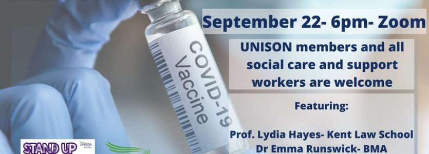 Mandatory Vaccinations in Social Care: A Trade Union Response